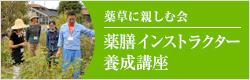 薬草に親しむ会/薬膳インストラクター養成講座